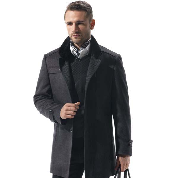 万博体育mantbex登录男装羊毛风衣